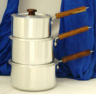 Sauce Pan, Wooden Handle Sauce Pan, Boiling Pot, Milk Pan, Casserole, Aluminium