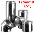 """5"""" (125mm) Twin Wall Insulated Flue Pipe"""
