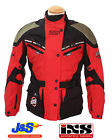 IXS INVADER TEXTILE JACKET WATERPROOF MOTORCYCLE MOTORBIKE SCOOTER CE ARMOUR J&S