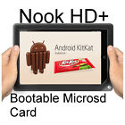 Kit Kat Android 4.4/CM11 Micro SD card for Nook HD+ !