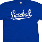 Baseball Script Tail T-Shirt - All Star Sports Team Jersey T - All Size & Colors image