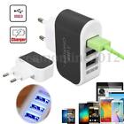 3.1A 3 ports USB Wall Charger LED AC Plug Travel Home Power Adapter Universal