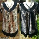 New Beautiful Animal Print Necklace Celeb Style Bridal Party Top Tunic Dress
