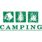 Camping Tee Shirt All Sizes & Colors (355)