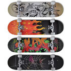 "B#New 9 Ply Maple 8"" Skateboard Complete Skate Board Skating Skateboard 4 Design"