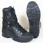French Army Leather Combat Boots - Winter Gore-Tex Lined Waterproof Hiking New