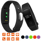 Pedometer Health Smart Watch Heart Rate Bracelet Mate For ios Android Smartphone