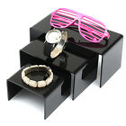 3pcs Acrylic Bracelet Table Jewelry Display Stand Holder Showcase
