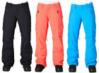 DC Ace Snowboard Pants Womens BLACK XS L ELECTRIC BLUE INSULATED New AUTHENTIC