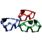 Star Flashing LED Glasses Shades Glow Jewelry Party Favors Fashion Light Up Toys