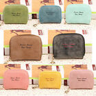 Retro Mini PU Leather Coin Purse Changes Wallet Coin Bag Card Holders Pouch