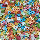 25g 50g 100g RAINBOW SUGAR GLIMMER LETTERS ALPHABET- Edible Cupcake Sprinkles