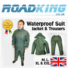Waterproof Suit Rainsuit Clothing Jacket & Trousers Green | Fishing & Shooting