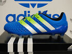 NEW ADIDAS ACE 16.1 Firm Ground Men's Soccer Cleats - Blue/White;  AF5085