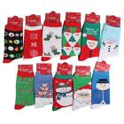 1 Pair Novelty Christmas Comic Character Cotton Socks Size UK 2.5-7.5 Unisex