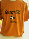 NEW Various Coloured T Shirt With Grumpy Old Cornishman Print