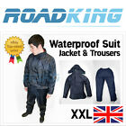 Waterproof Suit Rainsuit Clothing Jacket & Trousers Blue | Fishing Sailing Golf