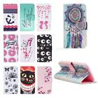 Painted Pattern PU Leather Fold Wallet Pouch Case Cover for iPhone 6/6S JMHG