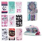Painted Pattern PU Leather Fold Wallet Case for Samsung Galaxy S4(I9500) JMHG