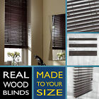 Wood blind venetian - V.DARK CHOCOLATE - 2 Year guarantee - Style Express