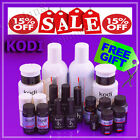 Kodi Nail PROFESSIONAL Gel Polish LED UV Rubber Base Top Ultrabond FREE GIFT!