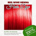 Red Wine Henna Hair Dye - 100% Organic and Chemical free Henna for Hair Color