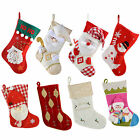 Christmas Stocking Fireplace Decoration Santa Snowman Xmas - Choose Design