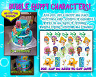bubble guppies 1st birthday ideas - Bubble Guppies edible Cake image characters sugar Birthday paper ideas guppys