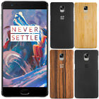 Original Rosewood Bamboo Kevlar Back Door Battery Cover Case For OnePlus Three 3