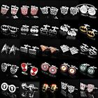 NEW Super Hero Cufflinks Mens Wedding Novelty Superhero Cuff Links Fashion Gift $3.75 USD