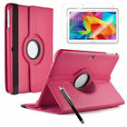 Samsung Galaxy Tab 4 10.1 inch SM-T530 T531 Smart Rotating 360 Case Cover
