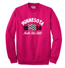Best Destination Golds - Minnesota State Chevron Souvenir Destination Location Design Sweatshirt Review