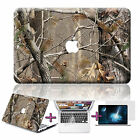 """3in1 Tree Camo Rubberized Painted Hard Case For Macbook Pro Air 11"""" 12"""" 13"""" 15"""""""