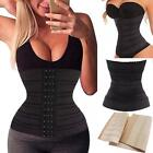 Latex Rubber Women Sexy Waist Training Cincher Underbust Corset Body Shaper Z151