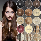 "Clip in Extensions 100% Real Human Hair Full Head 20""120g Thick 8pcs/set Hair"