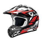 OEM Polaris Red Gloss Tenacity Helmet Polycarbonate Shell DOT approved S-3XL