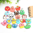 Cute Key Cover Top Head Cover Chain Cap Keyring Bags/Phone Keychain Strap New