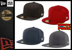 New Era 59Fifty Black Blank Fitted Cap Hat Plain