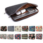 Laptop Computer Sleeve Notebook Cover Case Canvas Bag Pouch 11 13 14 15 17 inch