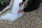 ALVEPLAC (BY JOUPLAST) - GRAVEL SUPPORT SYSTEM - INTERLOCKING GRID WITH MEMBRANE