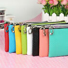 New Ladies Women Soft Protable Casual Handbag Pouch Bag Zipper Wallet Coins