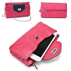 Womens Fashion Smart-Phone Wallet Case Cover & Crossbody Purse EI64-1