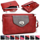 Womens Fashion Smart-Phone Wallet Case Cover & Evening Purse EI64-5