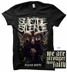 SUICIDE SILENCE - Sacred Words - T SHIRT S-M-L-XL-2XL Brand New Official T Shirt