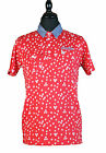 Mens Designer Duck and Cover Fleming Polo Shirt In Mars Red Free Delivery