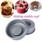 Good! 4 Inch Non-stick Sunken Pan Set Cake Decoraint Baking Tin Mousse Jelly Cup