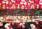 CHRISTMAS #1  FABRICS Sold INDIVIDUALLY NOT AS A GROUP By the HALF YARD