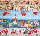CHRISTMAS #7  FABRICS Sold INDIVIDUALLY NOT AS A GROUP By the HALF YARD