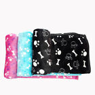 Warm Pet Bed Mat Small Cat Dog Puppy Coral fleece Soft Blanket Bed Cushion