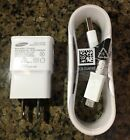 New Genuine Samsung Galaxy Note 4 5 S6 S7 Edge Plus White Wall Micro Charger Lot